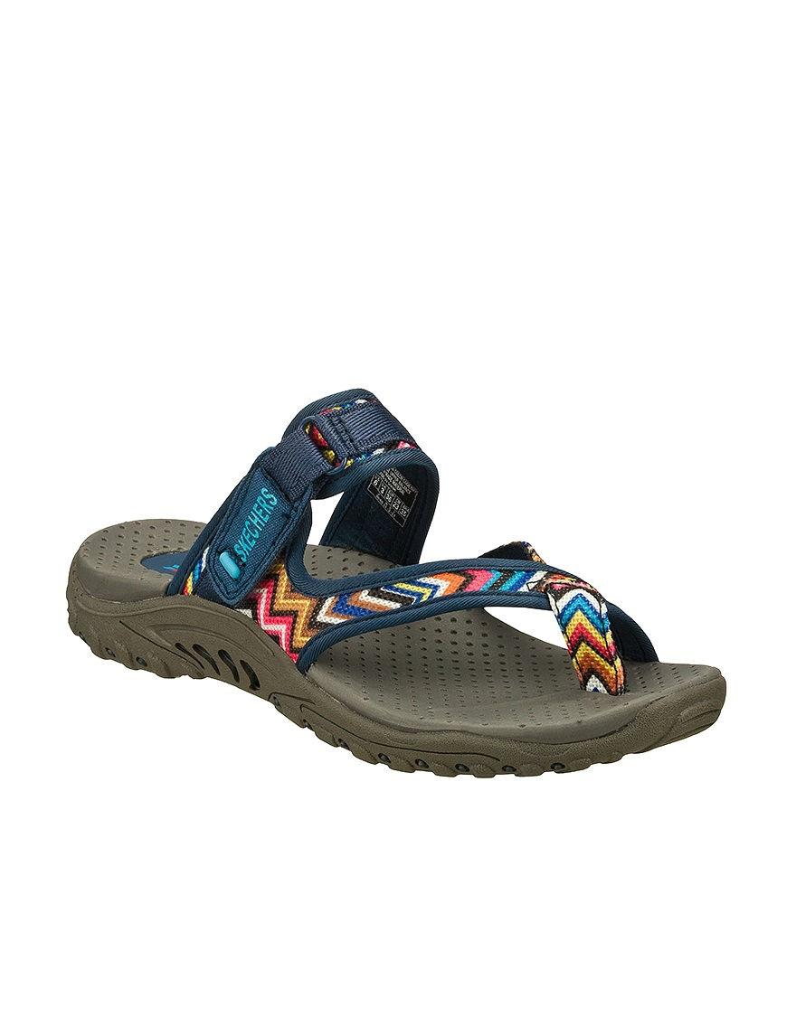Skechers Navy Sport Sandals Comfort