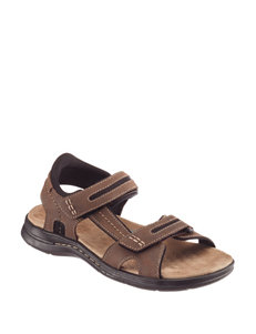 Dockers Dark Brown Sport Sandals