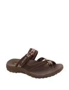 Skechers Chocolate Sport Sandals