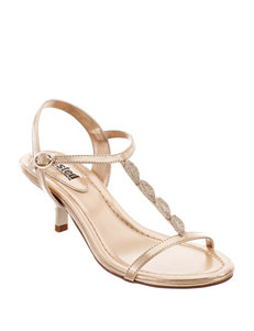 Unlisted Gold Heeled Sandals