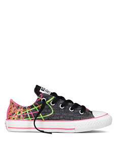Converse® All Star Chuck Taylor Print Oxford Shoes – Girls 11-3