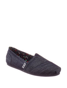Skechers® BOBS Plush-Denim Darlin Slip-on Shoes – Ladies