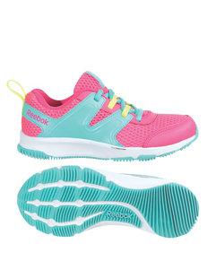 Reebok® True Traction Burst Running Shoes – Girls 11-3