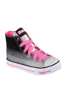 Skechers® Twinkle Toes Splendorific Hi Top Shoes – Girls 11-3