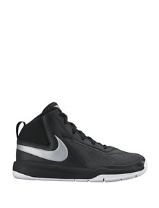 Nike Team Hustle 7 Basketball Shoes – Boys 4-7