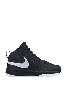 Nike Team Hustle 7 Basketball Shoes – Boys 11-3