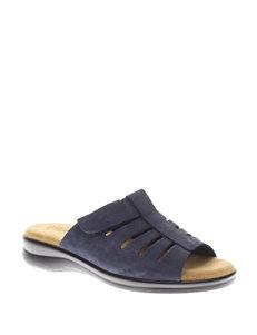 Flexus Vamp Slide Sandals – Ladies