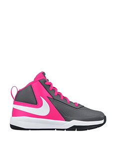 Nike Team Hustle D7 Basketball Shoes – Girls 11-3