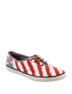 Keds® Champion Patriotic Canvas Oxford Shoes