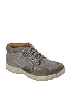 Skechers® Relaxed Fit Bremo Chukka Boots – Men's