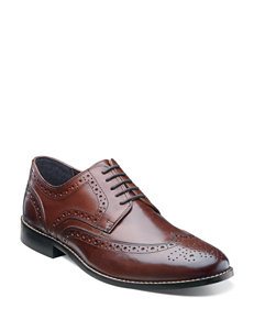 Nunn Bush Nelson Wingtip Shoes – Men's