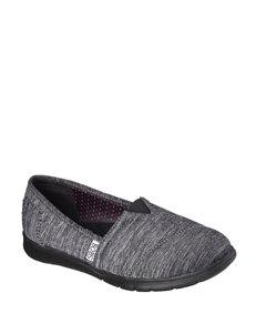 Skechers® Pureflex Heathers Jersey Slip-on Shoes – Ladies