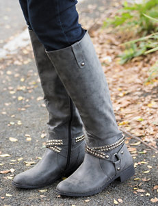 Olivia Miller Zo Studded Tall Boots