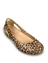 Crocs Kadee Leopard Print Flats