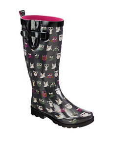 Capelli Grey Rain Boots