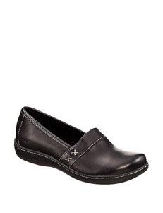 B.O.C. Black Slipper Shoes