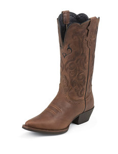 Justin Boots Mustang Stampede Western Boots
