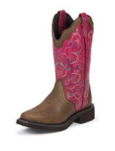 Justin Bay Apache Western Boots