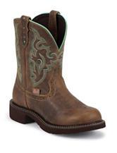 Justin Tan Jaguar Classic Western Boots