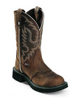 Justin Aged Bark Western Boots