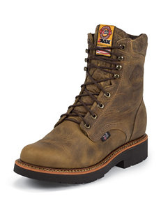 Justin Tan J-Max Double Comfort Work Boots