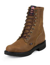 Justin Aged Bark 6-Inch Steel Toe Original Work Boots