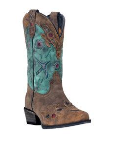 Dan Post Vintage Bluebird Cowboy Boots – Girls 8-3