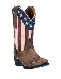 Dan Post Lil' Liberty Cowboy Boots – Kids 8-3