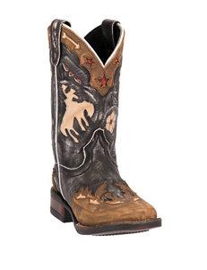 Dan Post Wild Ride Cowboy Boots – Kids 8-3