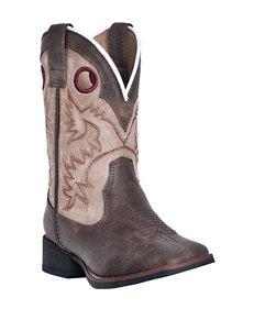 Laredo Collared Cowboy Boots – Boys 8-3
