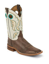 Justin Brown Bent Rail Western Boots