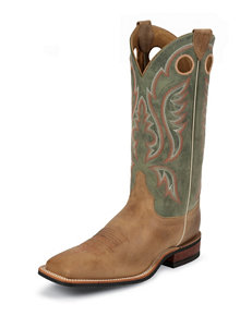 Justin Sage Bent Rail Western Boots