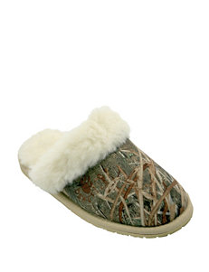 Dawgs Mossy Oak Scuff Slippers