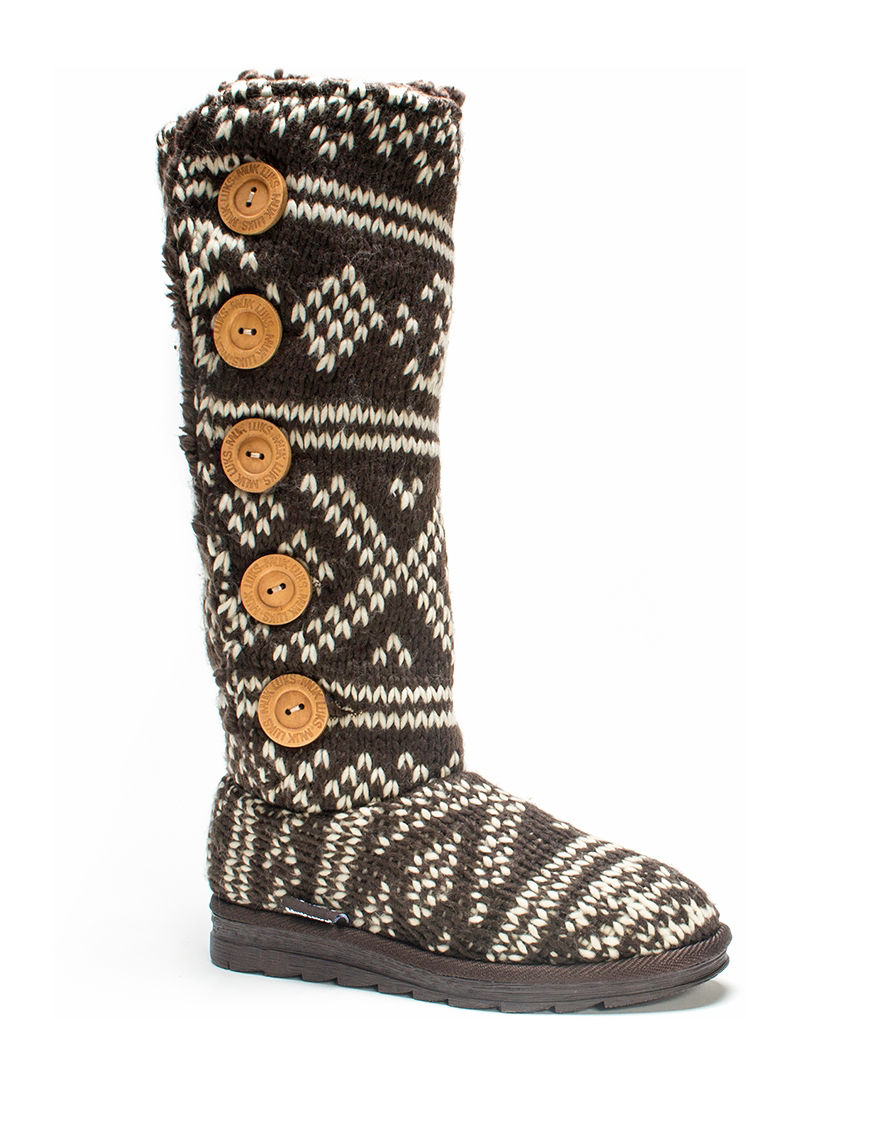 Muk Luks Brown Winter Boots