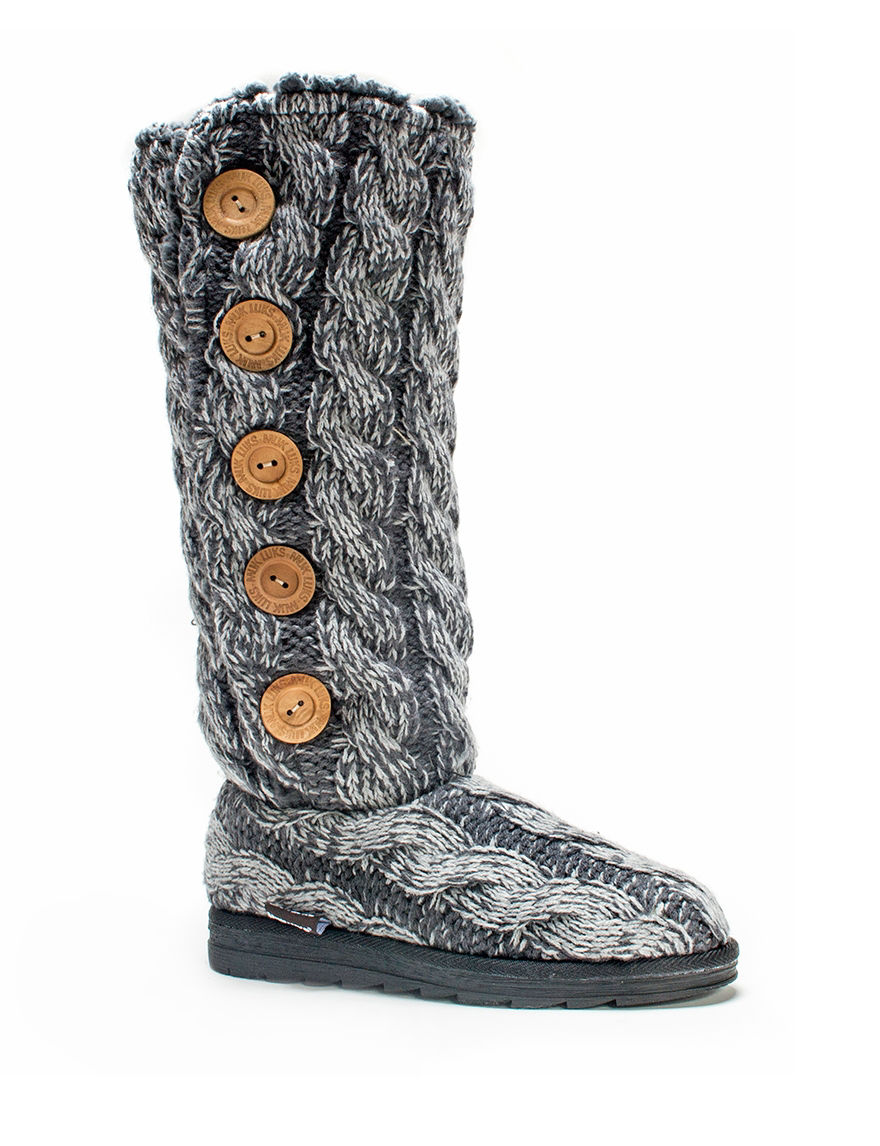 Muk Luks Grey Winter Boots