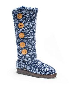 Muk Luks Navy Winter Boots