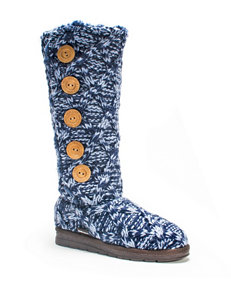 Muk Luks Navy Winter Boots