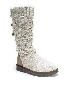 Muk Luks Natural Winter Boots