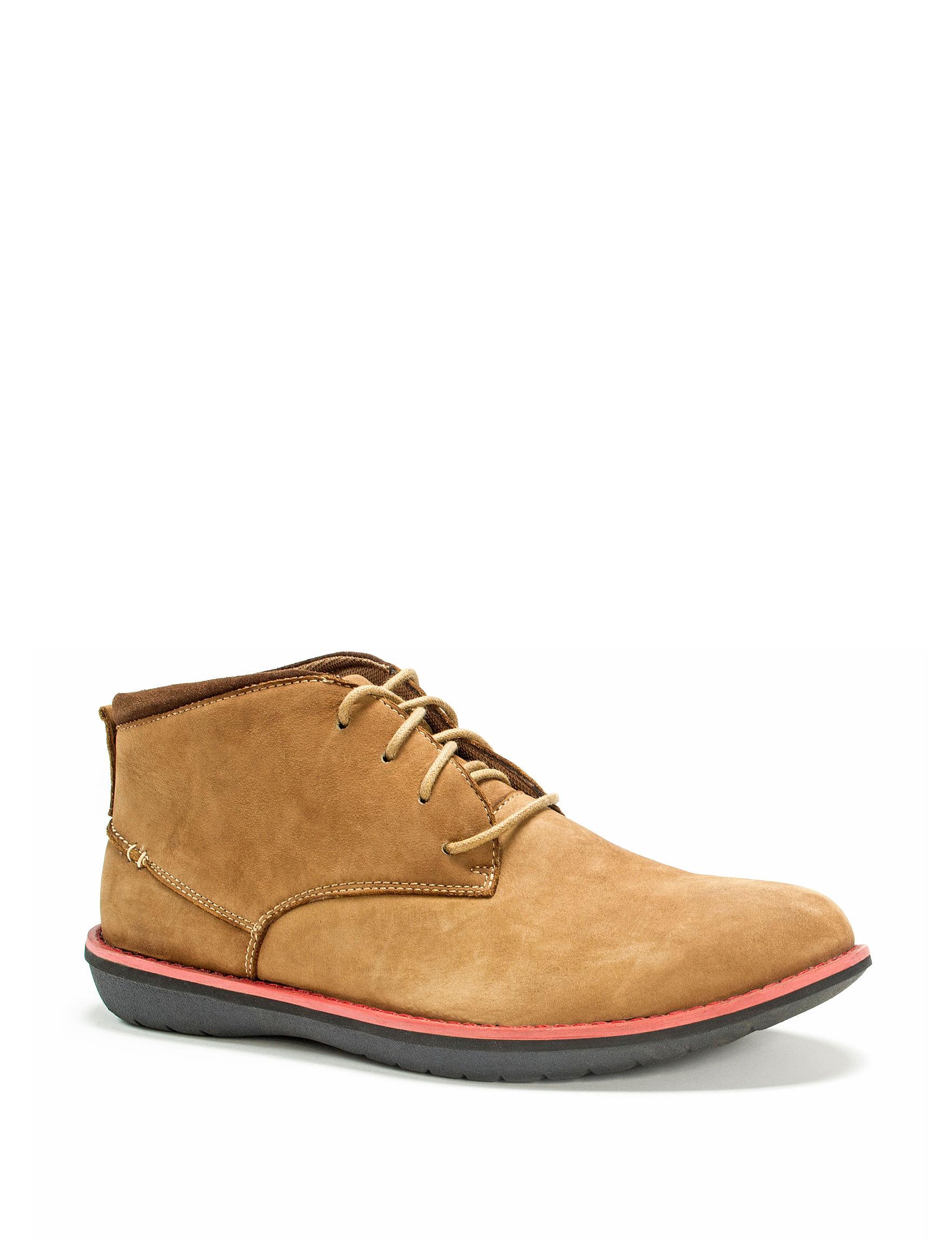 Muk Luks Tan Chukka Boots