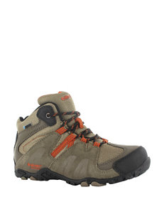 Hi-Tec Aitana Mid Waterproof Boots – Boys 3-7