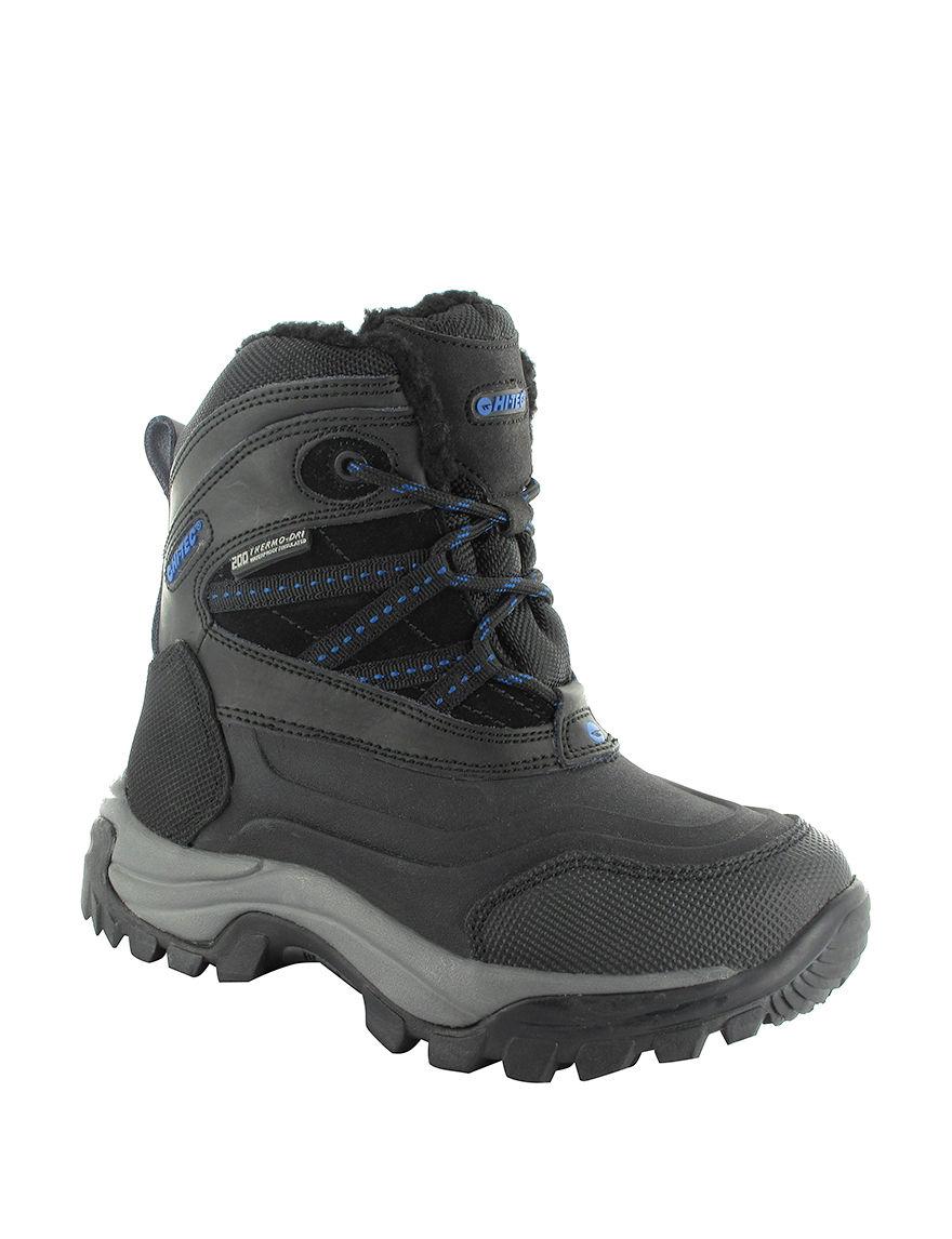 Mens Hi-tec Capri Waterproof Insulated Winter Snow Boots
