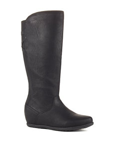 Cougar Black Riding Boots
