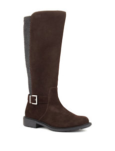 Cougar Brown Riding Boots