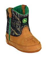 John Deere Camo Johnny Popper Crib Boots – Baby 0-4
