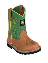 John Deere Green Johnny Popper Boots – Toddler Boys 4-8