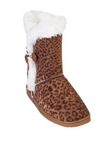USA Dawgs Brown Winter Boots