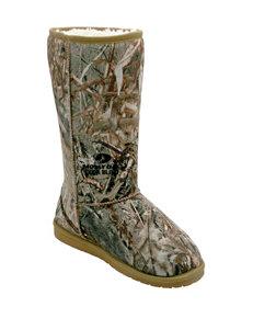 USA Dawgs Khaki Winter Boots