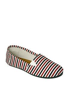 Dawgs Kaymann Striped Slip-on Shoes