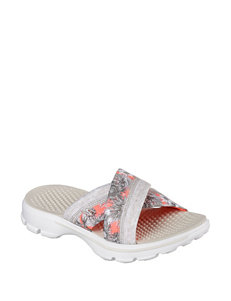 Skechers GO Walk Fiji Slide Sandals
