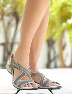 Dr. Scholl's Taupe Flat Sandals Sport Sandals